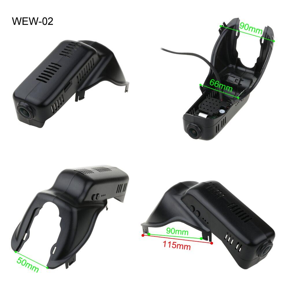 SINOSMART Novatek 96658 Wifi DVR камера для Volvo V60 S60 S80 S80L S90 XC40 XC60 XC70 XC90 управление через приложение SONY IMX323 1080P