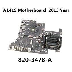 820-3478-A carte mère pour carte mère A1419 Apple iMac Retina 5K 27 pouces fin 2013 année ME088 EMC2639