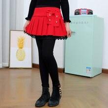 Get more info on the New Fashion Kids Skirt Leggings for Girls Knitting Leggings With Fleece For Toddler Girl Legins Princess Skinny Pants Culottes