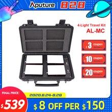 Aputure AL MC MC 4 Đèn RGBWW Chiếu Sáng ĐÈN LED Video Light 3200K 6500K RGB HSI/CCT/FX Đèn Selfie dành cho MÁY Ảnh DSLR Canon Nikon