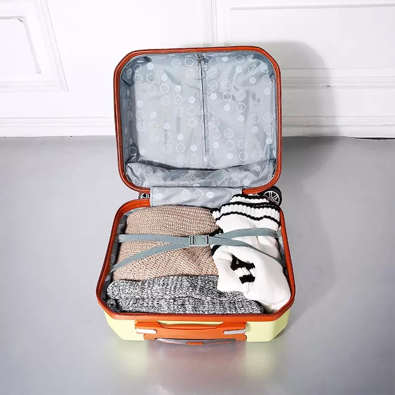 Luxury Models 18 inch Small Suitcase Mini Lock Box Travel Luggage