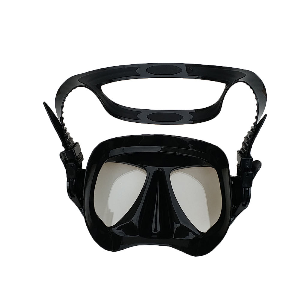 Professional Scuba Diving Mask Wear Resistant Underwater Swimming Snorkeling Glasses & Adjustable Strap Fit For Men Women