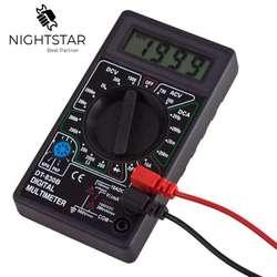Multímetro Digital AC DC Ohm Voltímetro Amperímetro Tester Medidor de Verificação e HFE Diodo Proteção Contra Sobrecarga DT830B