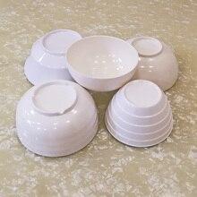 A5 Melamine Imitation Porcelain Dinnerware Hot Pot Conical Seasoning Bowl Restaurant Victualing House Tableware Rice