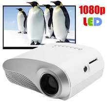 Home Theater Projector Mini 1080P Smart HD RD802 100-240V LCD Handheld Household Portable