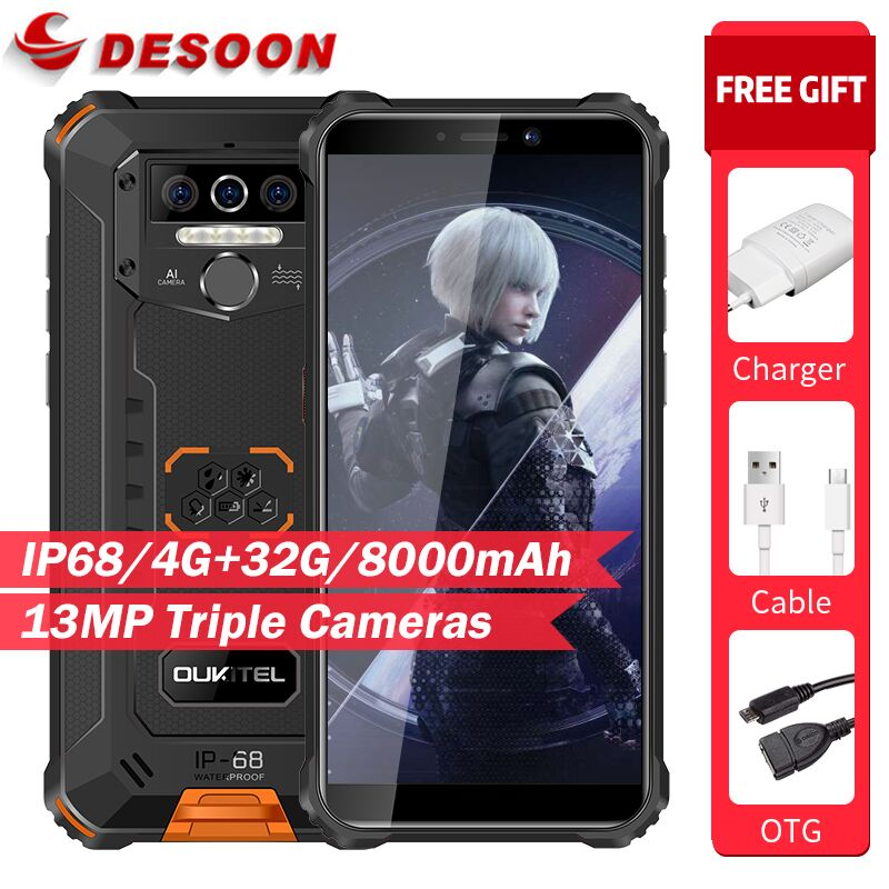 Смартфон Oukitel WP5 4+32ГБ