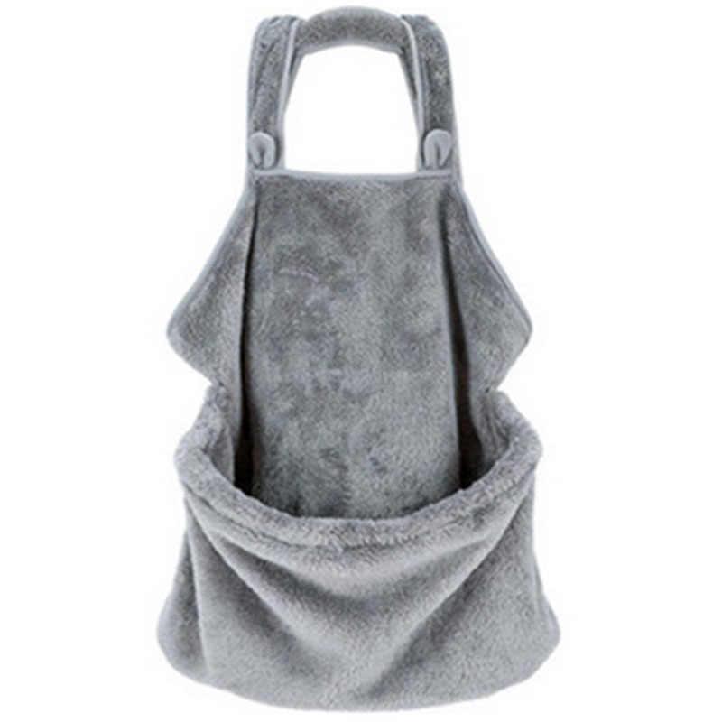 Топ-кошка-рюкзак для переноски бархат кораллового цвета; из кроличьего меха; Hug кошачья шерсть фартук возможностями антипригара волос Hug собака одежда держать костюм для щенков, куртка с карманами с изображением кошки, сумка