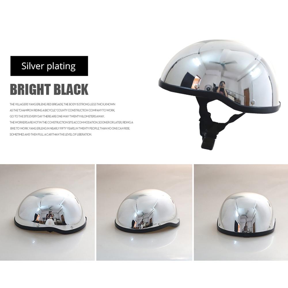 HEROBIKER Motorcycle Helmet Retro Moto Helmet Half Face Helmet Motorcycle Racing Off Road Helmet Casco Moto Capacete Casque 1