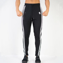Casual Skinny Pants Mens Joggers Sweatpants Gyms Fitness Workout Brand