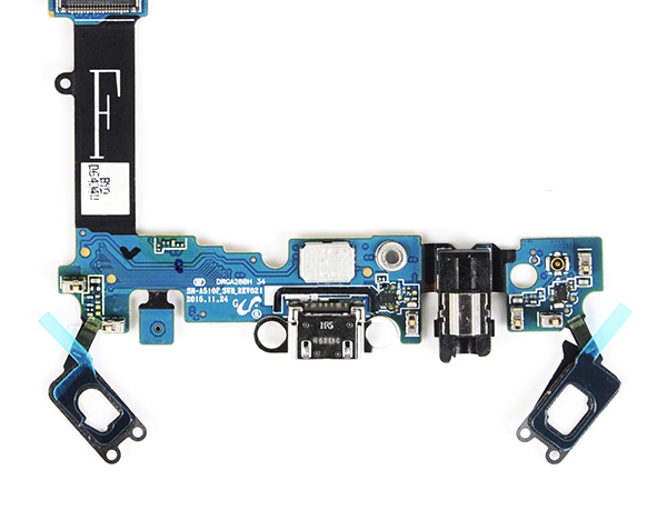A510F USB Charging Dock For Samsung Galaxy A5 2016 SM-A510F A510S A510U A5100 Charge Charging Port Dock Connector Flex Cable(China)