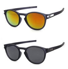 Marca de luxo clássico redondo óculos de sol masculino feminino esporte ao ar livre viagem oval óculos de sol anti-reflexivo uv400