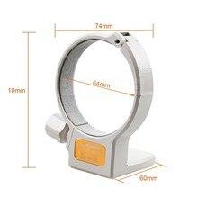 Anel da montagem do colar do tripé do metal a (w) para canon ef 70-200mm f/4l é a lente de usm