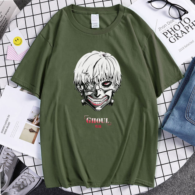 TOKYO GHOUL THEMED T-SHIRT (12 VARIAN)