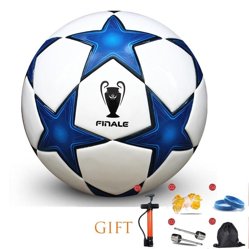 High Quality Football Size 3/4/5 Football Premier PU Seamless Soccer Ball Goal Team Match Training Balls League Futbol