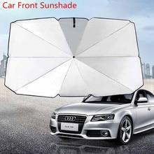 Curtain Sunshade Windshield Auto Sun-Block Car-Front Foldable Rear Anti-Uv 79--145/65--125cm