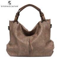Sc grande casual macio tote sacos de ombro para as mulheres grande couro vegan zíper feminino hobo design de luxo alta qualidade bolsas & bolsa
