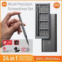 Kit di cacciaviti originali Xiaomi per uso quotidiano scatola di alluminio magnetica a 24 bit di precisione Set di cacciaviti fai-da-te Mi Miijia strumenti di riparazione