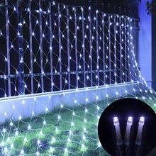 6x4 3x2 сетчатая светодиодная гирлянда 96 светодиодов 192 светодиода