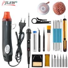 EU 220V Mini Hot Air Gun Portable Heat Gun for DIY Embossing Shrink Wrapping Drying Paint Multi Function Electrical Heat Tool