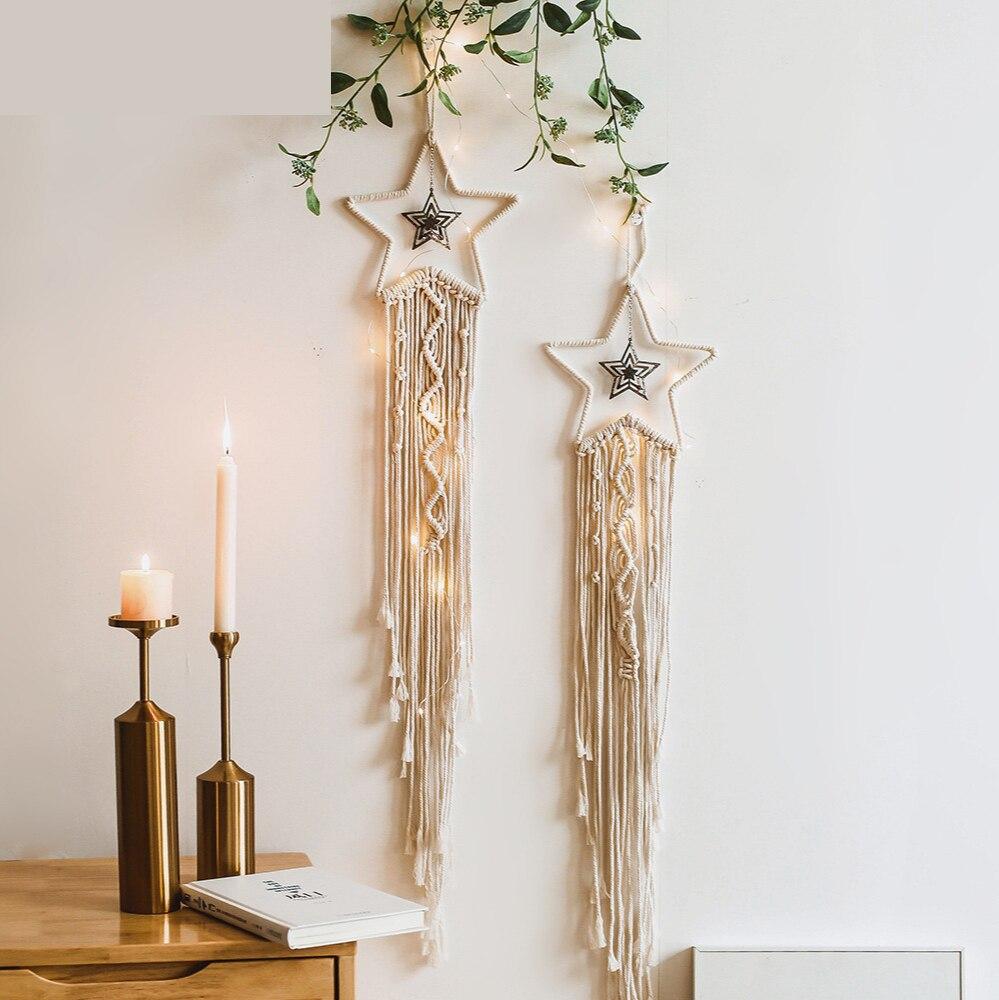 Купить из горного хрусталя гобелен с изображением звезд гостиная украшения