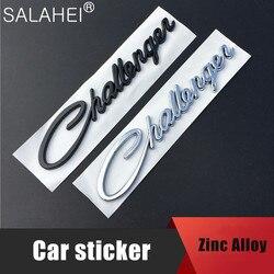 Legal acessórios do carro adesivo estilo challenger traseiro emblema do carro para dodge chrysler mopar srt estilo do carro decoração adesivos