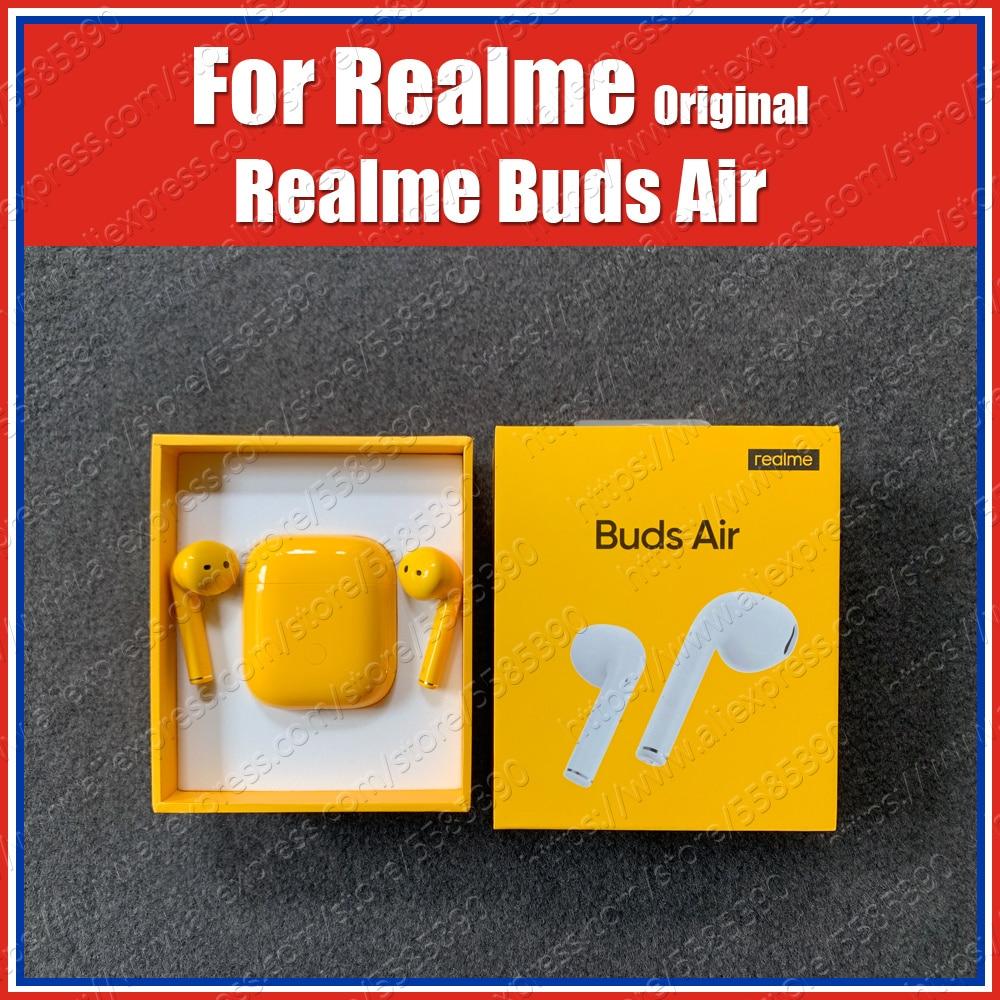 Rma201 Touch Control Tws Original Realme Buds Air True Wireless Bluetooth Earphones Headset Dual Mic X50 Pro Xt X2 Pro 5 Pro 5i Aliexpress Com Imall Com