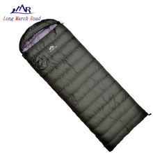 Military-Sleeping-Bag Ultralight LMR Camping Envelope Duck-Down Waterproof 800g-1000g