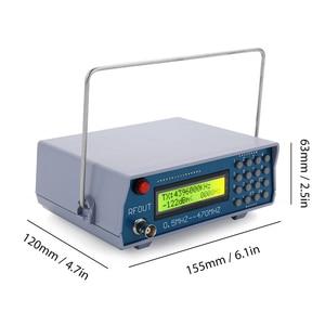 Image 4 - 0.5 MHz 470 MHz RF 신호 발생기 미터 테스터 Tesrting 도구 디지털 CTCSS 단일 출력 FM 라디오 워키 토키 디버그