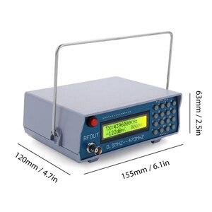 Image 4 - 0.5MHz 470MHz RF Signal Generator Meter Tester Tesrting Tool Digital CTCSS Singal Output for FM Radio Walkie talkie Debug