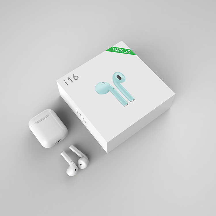 Original 1:1 i16 <font><b>TWS</b></font> Wireless Earphones 5.0 Bluetooth earphone for iphone xiaomi pk i10 i12 i13 <font><b>i14</b></font> i15 <font><b>tws</b></font> image