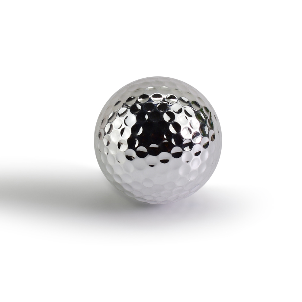 Unikatne srebrne zlate žogice za golf za vadbene žoge za golf v - Golf - Fotografija 4