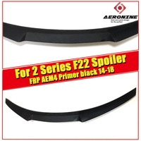 F22 FRP Unpainted M4 style spoiler rear trunk lip wings for BMW 2 series f22 M2 220i 228i 228ID 230i 235i Rear Wings Lip 2014 18