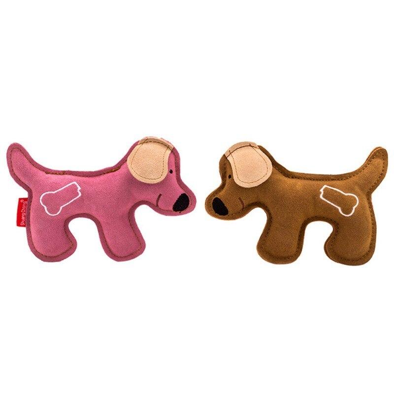 Jouet résistant aux morsures chiot jouet molaire jouet interactif pour animaux de compagnie jouet d'entraînement pour petits chiens