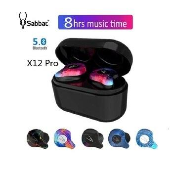 Original Sabbat X12 Pro Wireless Bluetooth 5.0 Earphone Sport Headset Hifi Headphones For Samsung Apple Huawei Xiaomi Oneplus