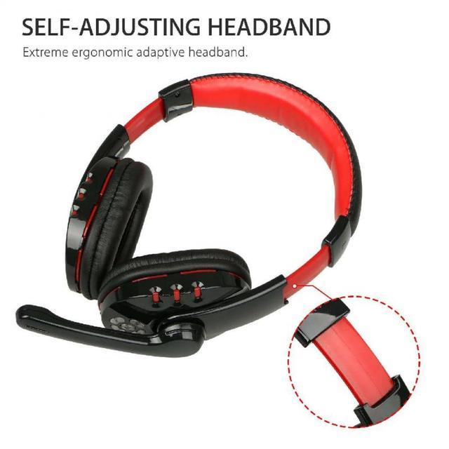 High Quality Gaming Headset Wireless Headphones PC 3