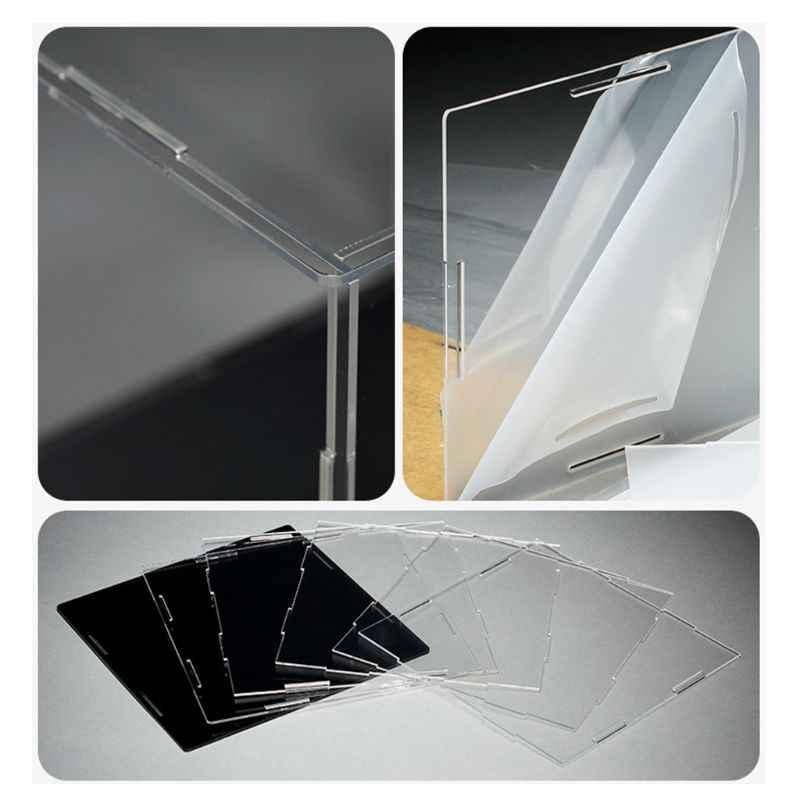 Прозрачный акриловый чехол для дисплея, Пылезащитная модель, чехол для шоу, экшн-фигурки