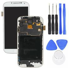 Replacement LCD Screen Touch Digitizer for Samsung Galaxy S4 i9505 with Tools black touch screen digitizer glass lens for samsung galaxy s4 active mini gt i8580 replacement repair part with tools