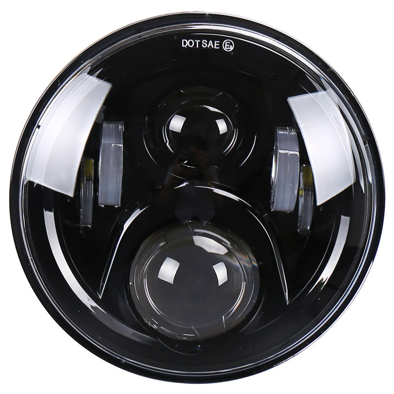 Headlamps With The Function Of Distance Light Automobile Lamp High-power High-brightness Modified Motorcycle Lamps