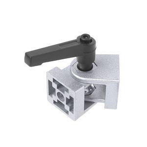 Цинковый сплав гибкий шарнир с ручкой литой шарнир соединитель для алюминиевого профиля RXJB