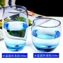 Glass Cup Transparent Simple Household Water Couple Lovely Tooth Brush Jar Бокалы Для Вина كاسات شاي Чашка Vaso Vino Стакан
