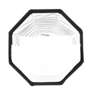 Image 5 - Triopo 90cm Portabe Bowens Mount Octagon Umbrella Softbox Outdoor Soft Box + Honeycomb Grid + 2m Light Stand for Studio Strobe