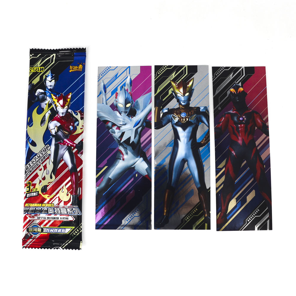 Hot Altman High Quality Ultraman Shining Card Bookmark 3 30 Flash Cards Kaiju Collection Board Game Toys For Kids Students