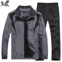 Ensemble de survêtement de marque pour homme, sweat et pantalon, ensemble 2 pièces, vêtements, cours dentraînement, jogging survêtement