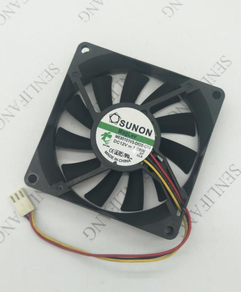 ME80151V3-D020-G99 8015 DC 12V 1.08W 8cm 80*80*15mm 3lines CPU Cooling Fan