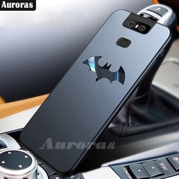 Перейти на Алиэкспресс и купить Ультра-тонкий матовый чехол Auroras с Бэтменом для ASUS Zenfone 6, задняя крышка, чехол для Asus Zenfone 6 ZS630KL