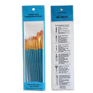 Image 4 - 10 pcs Round Pointed Pen Drawing Art Pen for Sketched Lines Paint Oil Painting For Tainted Frame DIY Painting By Numbers