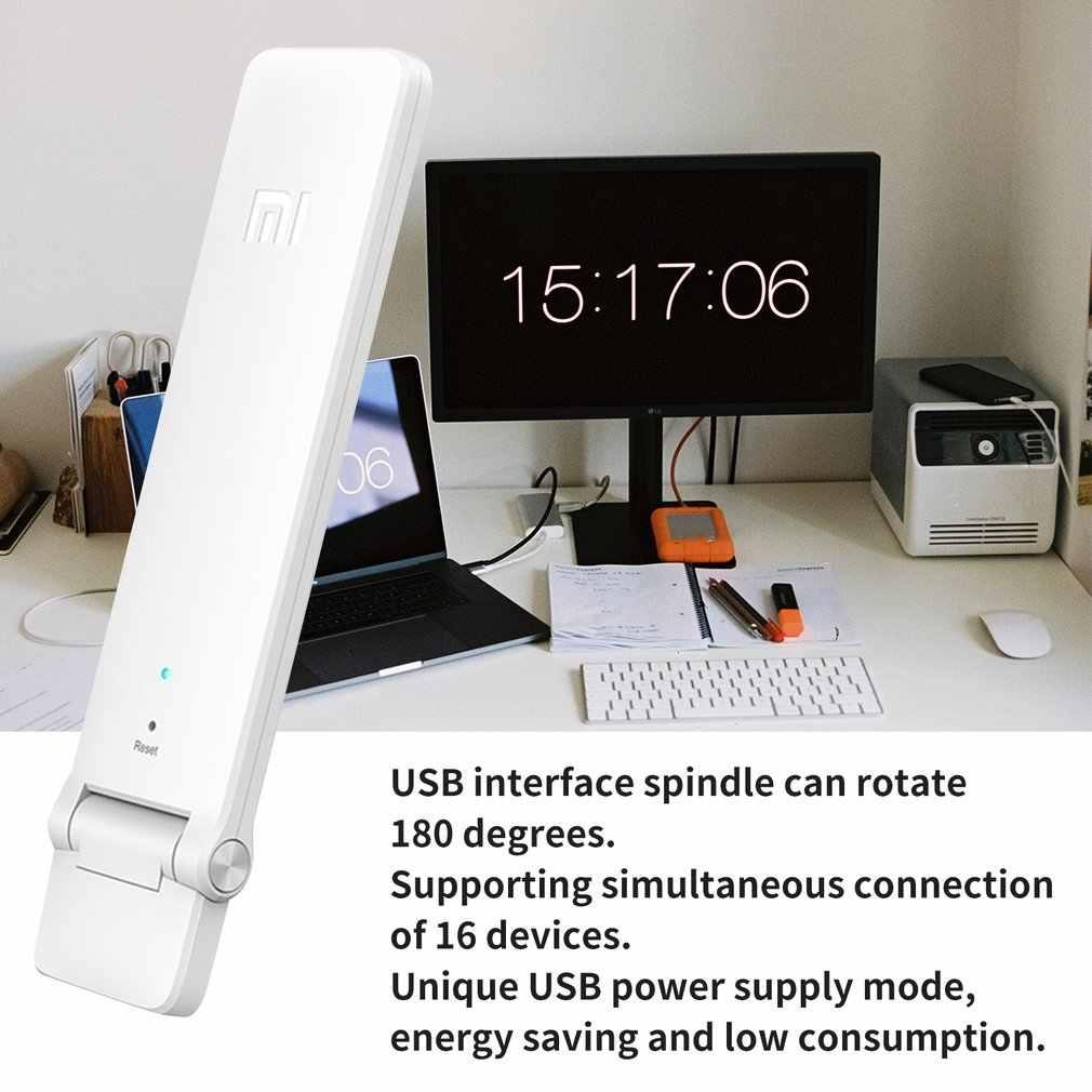 شاومي واي فاي مكرر 2 مكبر للصوت موسع 2 العالمي ريبيتيدور موسع واي فاي 300Mbps 802.11n اللاسلكية واي فاي تمديد إشارة