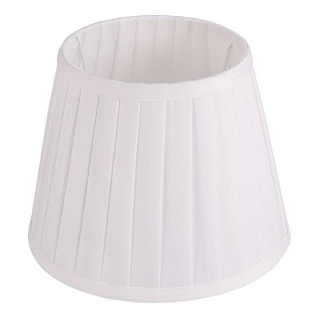 1pc Decorative Modern Dustproof Lightweight Lampshade Pleated Cloth Office Study Room