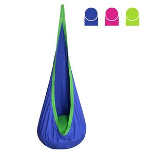 Image 2 - ARRIES Children Cocoon Hammock Garden Furniture Pod Swing Chair Indoor Outdoor Hanging Seat Child Swings Seat Patio Portable