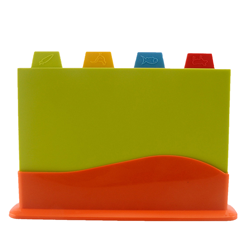 Separately-Block Chopping-Board-Set Vegetables Multifunction Kitchen With Stand Colour